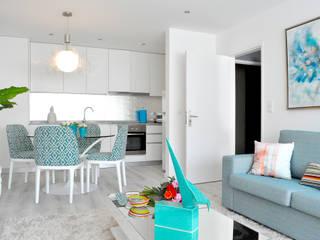 Sala de Jantar: Salas de estar  por EMME Atelier de Interiores