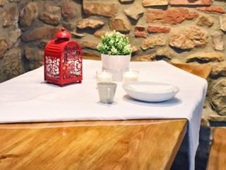 Reforma parcial para una familia numerosa Comedores de estilo rústico de Arantxa Muru Decoradora Rústico