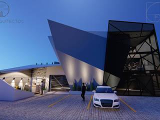 AMBIGUO: Casas de estilo  por GóMEZ arquitectos, Moderno