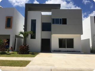 CASA RESIDENCIAL CUMBRES Casas minimalistas de MARQ ARQUITECTOS Minimalista