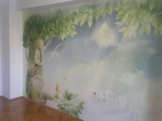 Çocuk Odası 3 Boyutlu Duvar Kağıtları ve Bebek Odası 3 Boyutlu Duvar Kağıtları DUVARGİYDİR Klasik