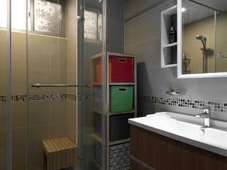 跨界風格:  浴室 by TGDesgin.Studio