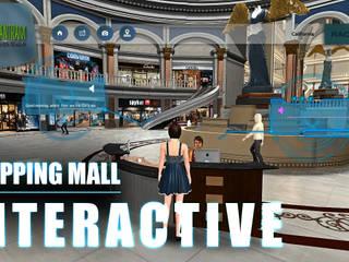 Virtual Reality Real Estate Shopping Mall Application by Yantram Virtual Reality Companies, California - USA Yantram Architectural Design Studio