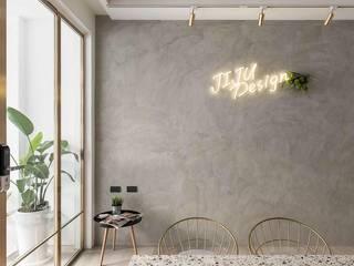 Modern style study/office by 倢居室內設計 Modern
