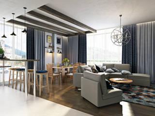 İskandinav Oturma Odası Zibellino.Design İskandinav