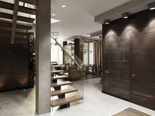 Eklektik Koridor, Hol & Merdivenler Zibellino.Design Eklektik