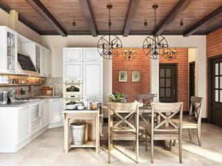 Kırsal Yemek Odası Zibellino.Design Kırsal/Country