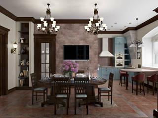 Akdeniz Yemek Odası Zibellino.Design Akdeniz