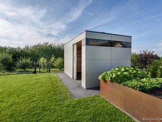 現代  by design@garten - Alfred Hart -  Design Gartenhaus und Balkonschraenke aus Augsburg, 現代風