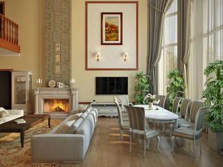 Klasik Oturma Odası Zibellino.Design Klasik
