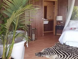 ESTRUCTURAS DE MADERAS RIGÓN, S.L. Спальная комната Аксессуары и декор Твердая древесина