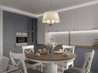 Квартира для молодой семьи: Кухни в . Автор – Givetto Casa