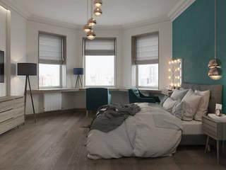 Квартира для молодого летчика: Спальни в . Автор – Givetto Casa