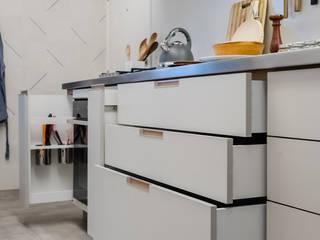 Cocinas de estilo minimalista de Macro Arquitetos Minimalista