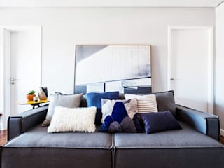 Salas de estar  por Macro Arquitetos, Minimalista