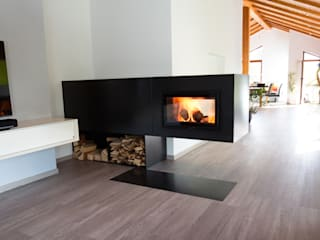 kiimoto kamine Living roomFireplaces & accessories Besi/Baja Black