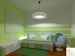 por Arquimundo 3g - Diseño de Interiores - Ciudad de Buenos Aires Moderno