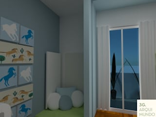 Kinderzimmer Junge von Arquimundo 3g - Diseño de Interiores - Ciudad de Buenos Aires, Modern