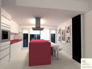 Einbauküche von Arquimundo 3g - Diseño de Interiores - Ciudad de Buenos Aires, Modern