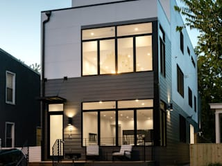 Kenyon St:  Houses by KUBE Architecture