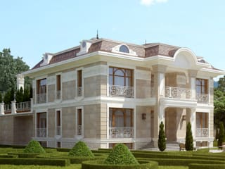 Classic style houses by Архитектурная мастерская Бориса Коломейченко Classic