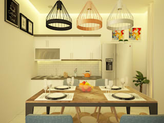 Ara Architect Studio Minimalist kitchen