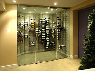 ShoWine Modern wine cellar Glass