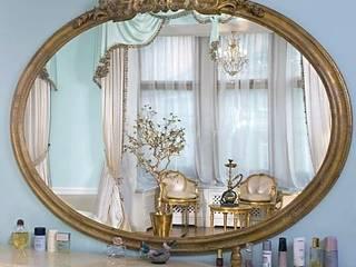 Интерьер спальни в дворцовом стиле: Спальни в . Автор – интерьеры от частного дизайнера