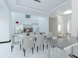 W HOUSE:  Ruang Makan by Atelier BAOU+