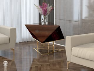 Decordesign Interiores SalonesAccesorios y decoración Ámbar/Dorado