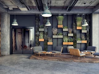 ANTE MİMARLIK  – Akçakaya Tekstil:  tarz Ofisler ve Mağazalar