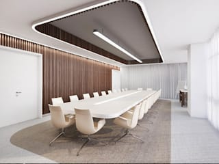 Office buildings by destilat Design Studio GmbH,