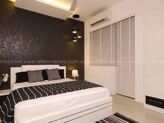 Mr. Anwar Rasheed , Film Director - Apartment in Kadavanthara,Kochi DLIFE Home Interiors Modern style bedroom