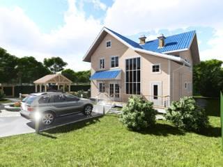 Жилой дом в Подгородинке:  в . Автор – Дмитрий Федчун,