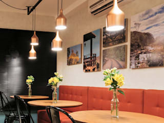 Café Design: Espaços gastronômicos  por Juliana Henriques Arquitetura