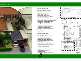 Landscape Rumah Contoh Oleh Cipta Kreasi Flora