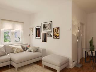 Apartment - Virtual Tour: Salas de estar  por LABVIZ
