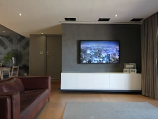 CVZ Project Modern living room by Audio Visual Projects (PTY) Ltd Modern