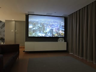 Modern living room by Audio Visual Projects (PTY) Ltd Modern