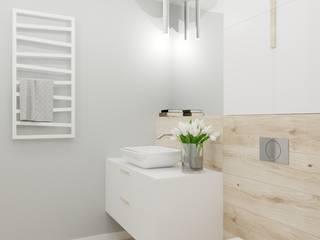 Modern bathroom by e-wnetrza.pl - Architekci wnętrz on-line Modern