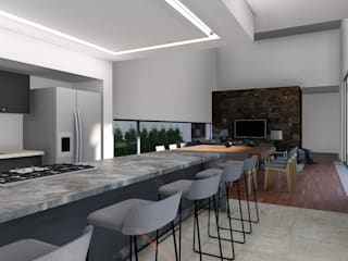 Built-in kitchens by GRUPO VOLTA