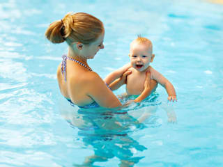 Baby Swimming Lessons:  Hot Tub by Star Swim Schools Pty Ltd