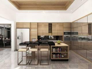 Salones de estilo moderno de iwan 3Darc Moderno