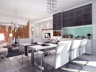 Modern dining room by iwan 3Darc Modern