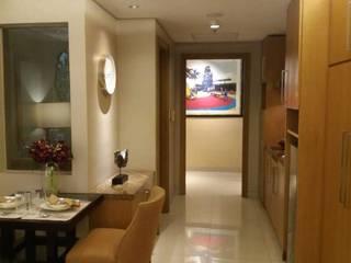 Pasillos, vestíbulos y escaleras de estilo moderno de iwan 3Darc Moderno