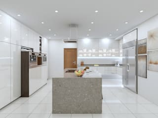 Zimbali Kitchens:   by Linken Designs ,