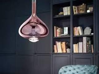 Iluminação e candeeiros Salas de estar modernas por CRISTINA AFONSO, Design de Interiores, uNIP. Lda Moderno
