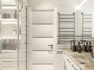 Дизайн интерьера ванной комнаты и сан узла: Ванные комнаты в . Автор – Interior design studio NaTaLi ( Студия дизайна интерьера Натали)