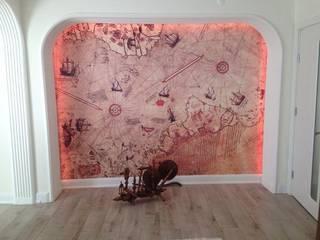 Dünya Haritası Duvar Kağıdı Modelleri DUVARGİYDİR Klasik
