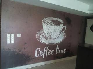 Kafe Ve Restoran İçin Duvar Kağıdı Modelleri DUVARGİYDİR Klasik